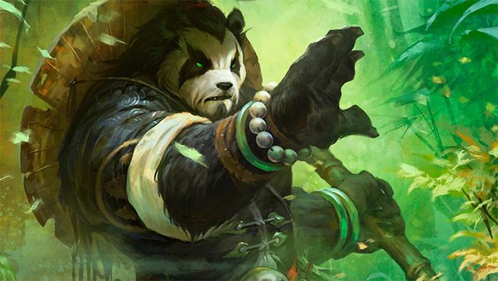 魔兽世界熊猫人唯美手绘高清壁纸