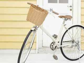 文艺小清新脚踏车