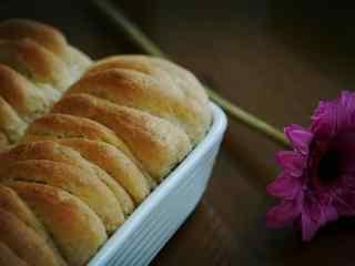 唯美面包图片高清桌面壁纸