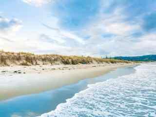 唯美海滩风景图片