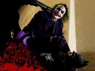 蝙蝠侠小丑恐怖桌面壁纸