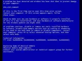 愚人节整蛊电脑屏幕蓝屏桌面壁纸