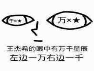全职高手王杰希千万星辰表情包