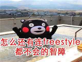 熊本熊freestyle表情包壁纸
