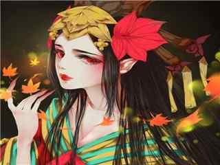 阴阳师红叶头像