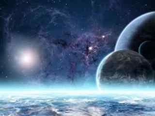 未知领域的宇宙空