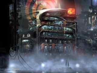 未知的科幻城市空