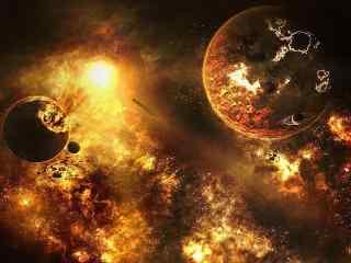 太空 科技 深邃 背景 浩瀚 航空 宇宙探