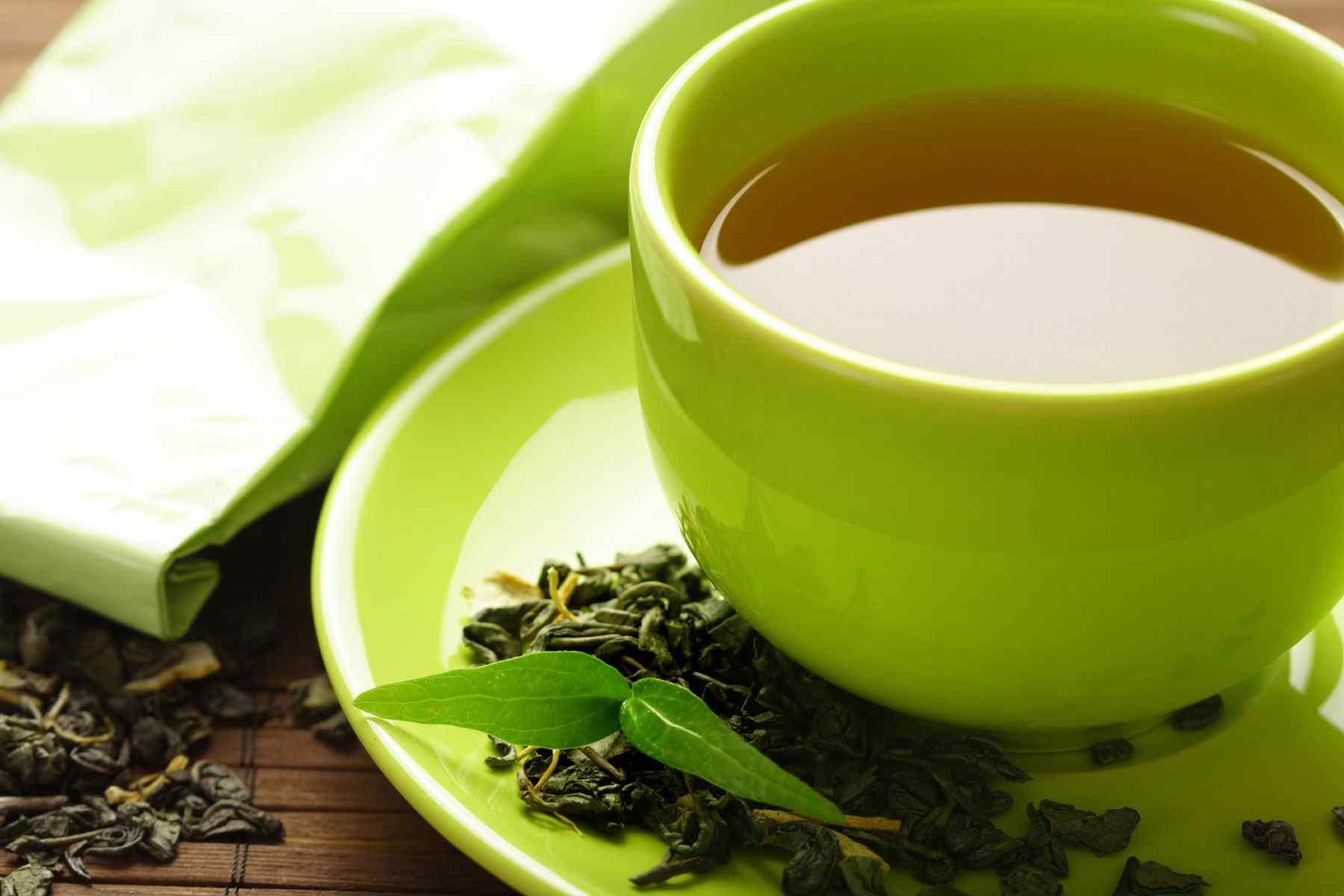 中国茶文化之清心绿茶高清桌面壁纸