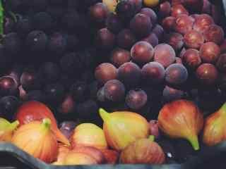 美丽的葡萄文艺美食之桌面壁纸