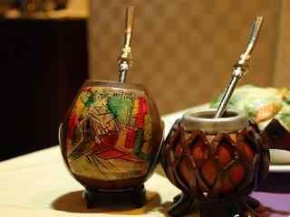 外国茶文化之阿根廷马黛茶高清电脑壁纸