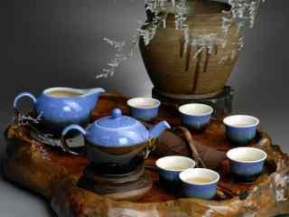 中国茶文化之精美茶具高清桌面壁纸3
