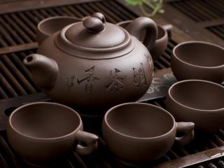 中国茶文化之精美茶具高清桌面壁纸1