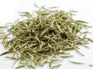 中国茶文化之高贵白茶高清桌面壁纸