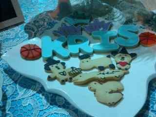 翻糖蛋糕创意小熊可爱饼干桌面壁纸