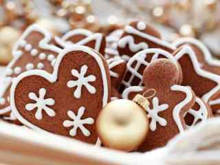 饼干巧克力奶油饼干桌面壁纸