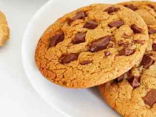 饼干趣多多巧克力饼干桌面壁纸