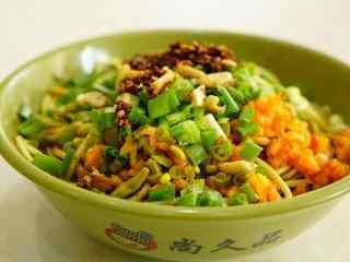中华名小吃武汉热干面高清美食壁纸