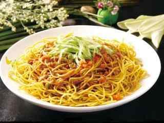 名小吃武汉热干面高清美食壁纸