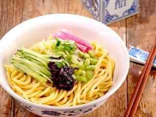 北京风味炸酱面高清美食壁纸