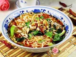 重庆风味小面高清美食壁纸