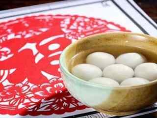 新年图片:汤圆桌面壁纸