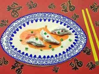 2017新年图片:饺子美食壁纸