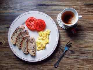 西式营养早餐小清新图片高清桌面壁纸