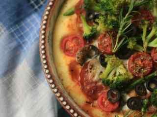 美味自制披萨图片