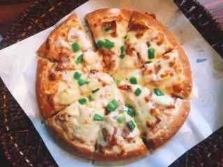 美味鸡肉披萨图片