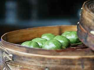 清明节习俗-青团图片美食壁纸