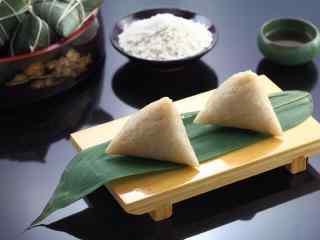 小清新端午节白米粽子壁纸