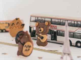 儿童节礼物之动物饼干图片