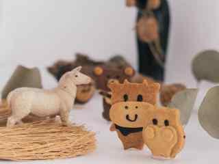 儿童节礼物之萌萌哒动物饼干