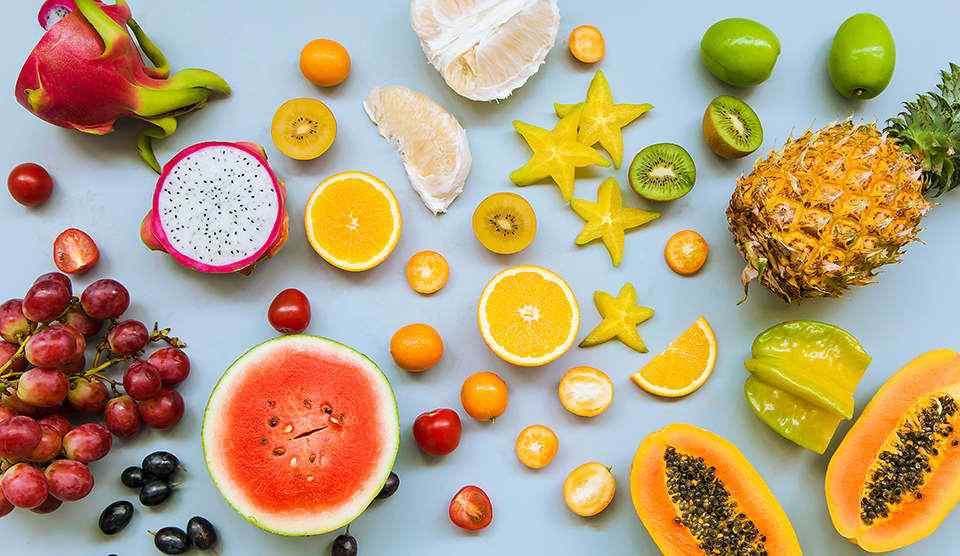 小清新夏日水果汁西瓜壁纸