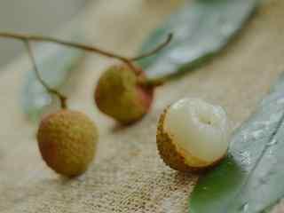 唯美好吃的荔枝摄影图片壁纸