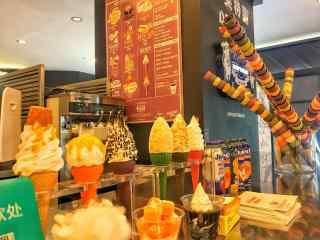 美味冰淇淋图片壁
