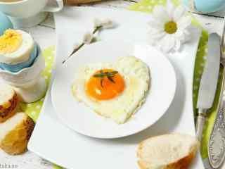美味煎蛋摄影壁纸