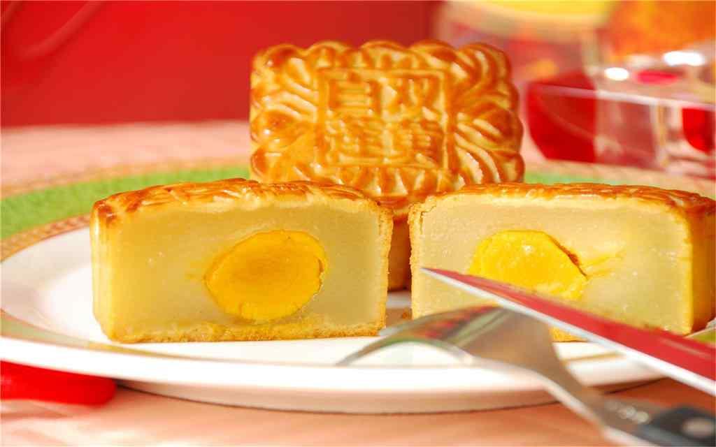 中秋节月饼之美食桌面壁纸