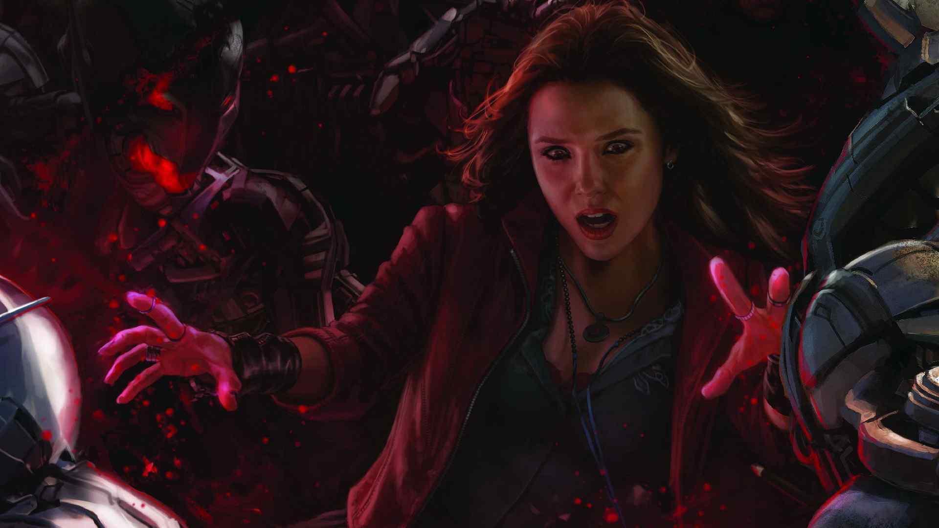 复仇者联盟绯红女巫壁纸