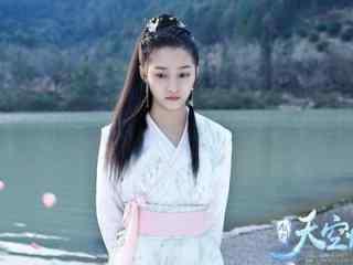 关晓彤作为主角的《九州天空城》精彩剧照壁纸