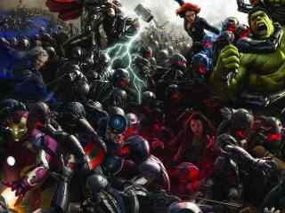 复仇者联盟之百位英雄桌面壁纸