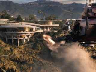 钢铁侠名场面直升机轰炸系列桌面壁纸