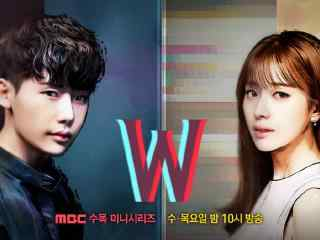韩剧W两个世界宣传海报桌面壁纸