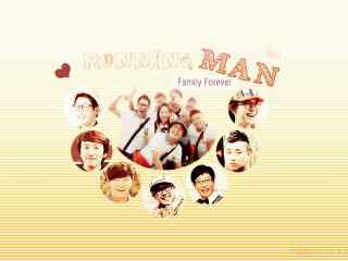 韩国综艺RunningMan之温馨的成员桌面壁纸