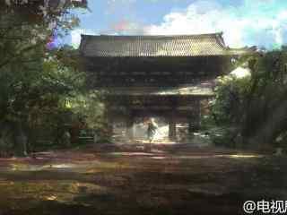 九州海上牧云记场景图设计天启城外桌面壁纸