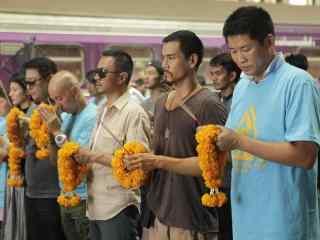 湄公河行动之电影开机祭拜桌面壁纸