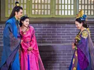 兰陵王妃剧照宇文邕带着元清锁见紫魅桌面壁纸