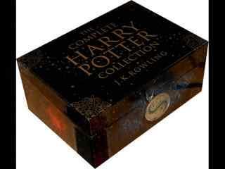 哈利波特盒装小说高清桌面壁纸