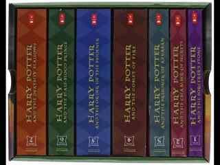 哈利波特小说精装典藏版高清桌面壁纸
